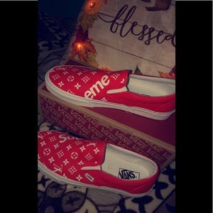 Louis Vuitton custom vans made in Los angels !